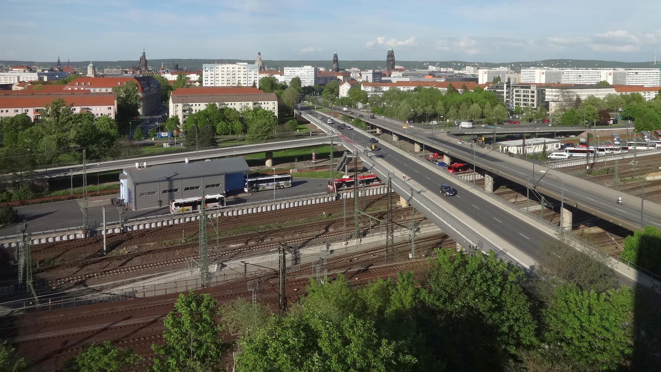 Brücke Budapester Straße