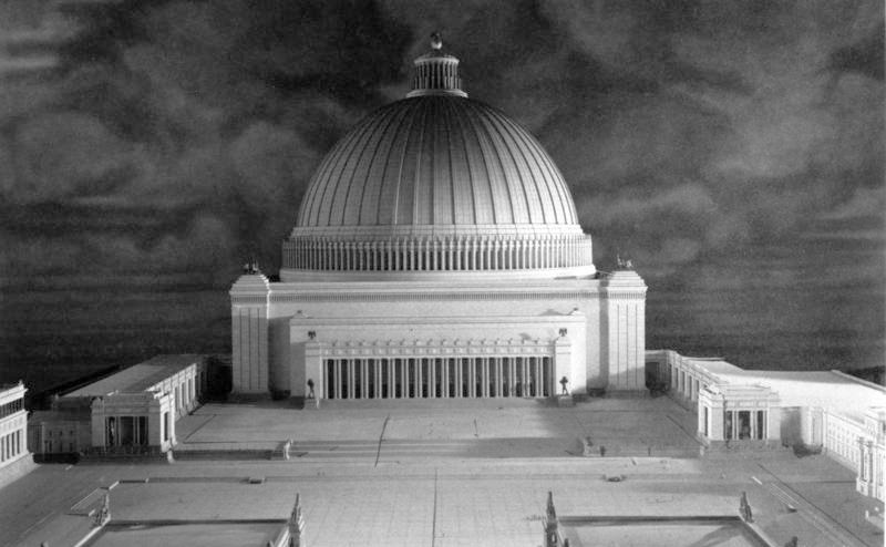 Volkshalle wikipedia for Architecture nazi