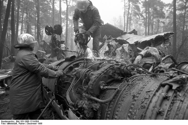 Flugzeugabsturz Berlin