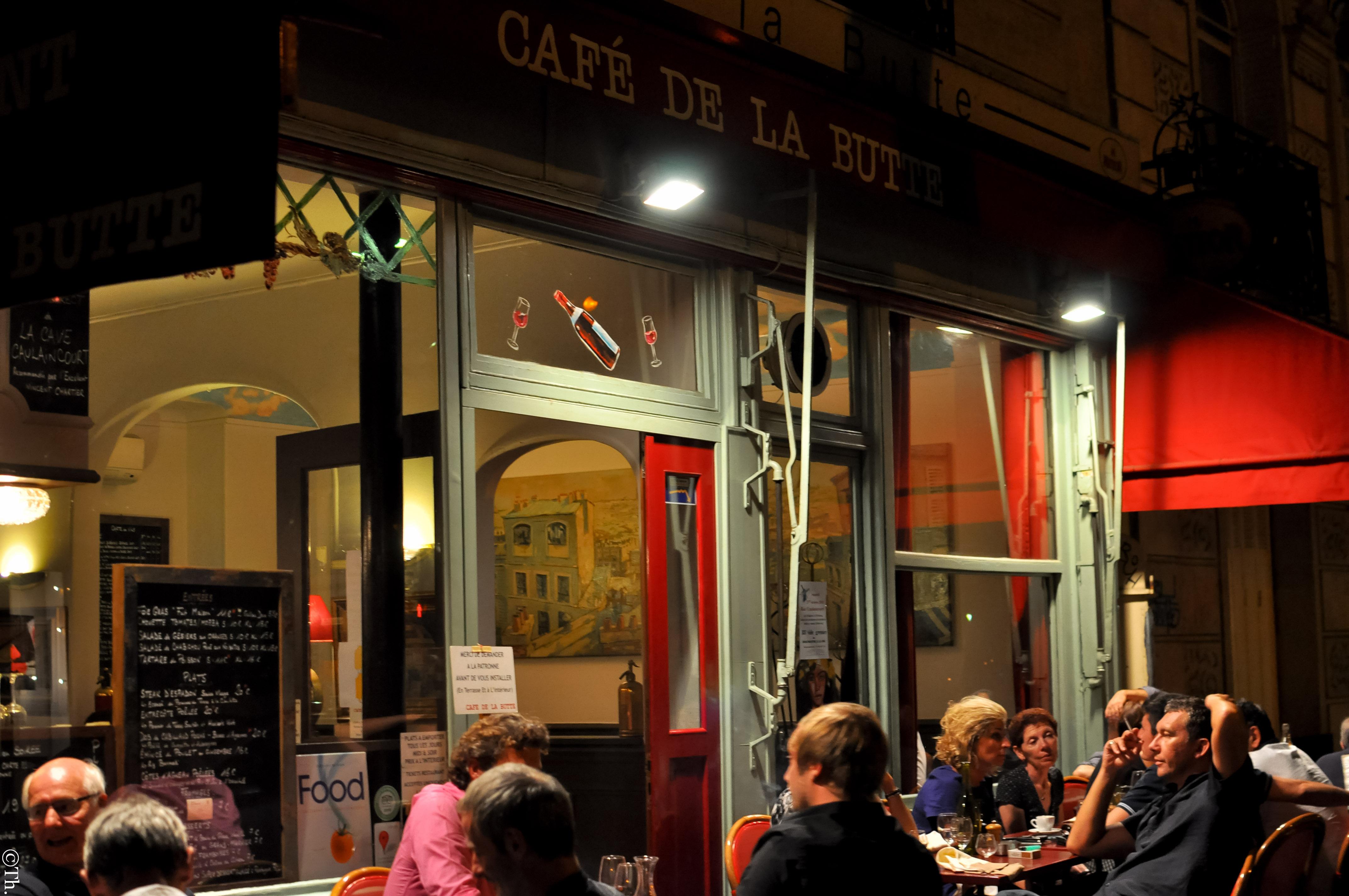 Cafe La Butte  Ef Bf Bd Rue Du Mont C Ef Bf Bdnis