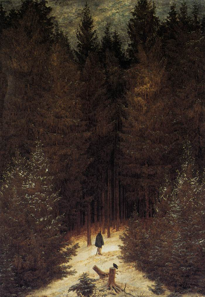 Image result for friedrich chasseur in the forest