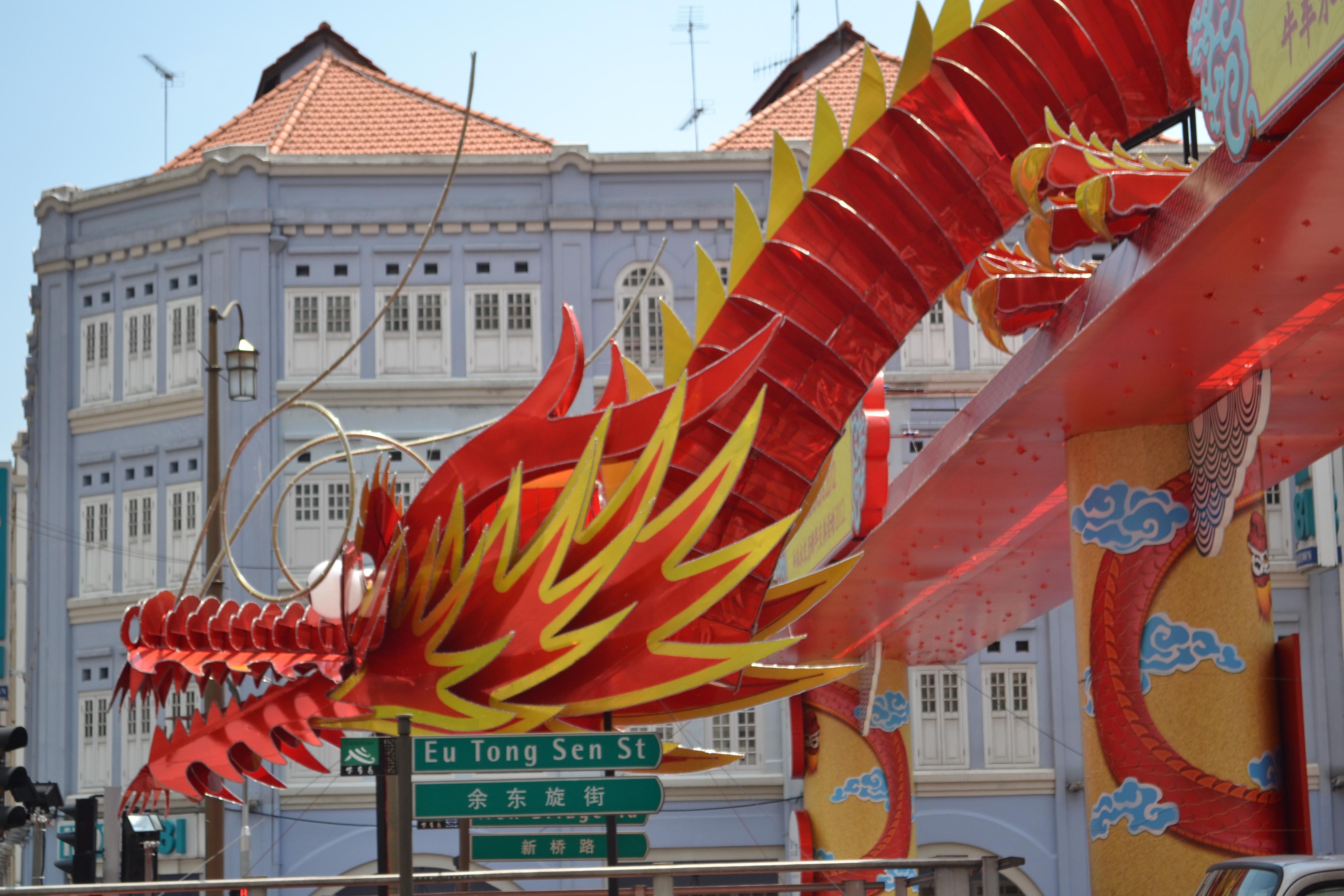 File:Chinese New Year dragon decoration along Eu Tong Sen ...