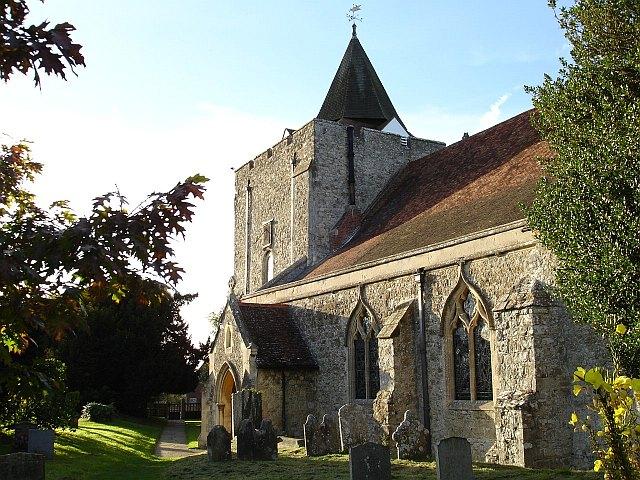 Church of St. Nicholas, Leeds, Kent.