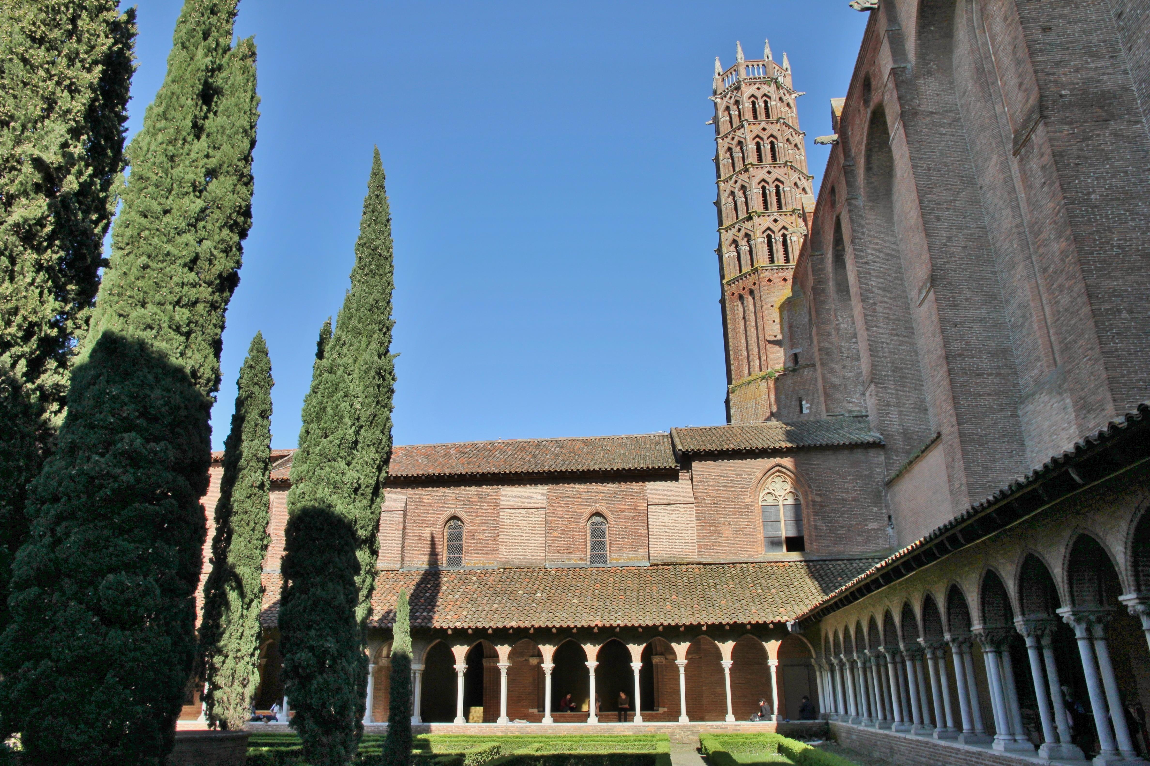 Cloître et clocher des Jacobins, à Toulouse<br />Balmario, CC by-sa
