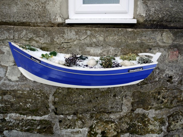 File:Coble fishing boat planter, Boulby - geograph.org.uk ...