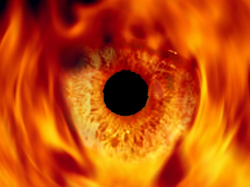 Image result for eyes fire