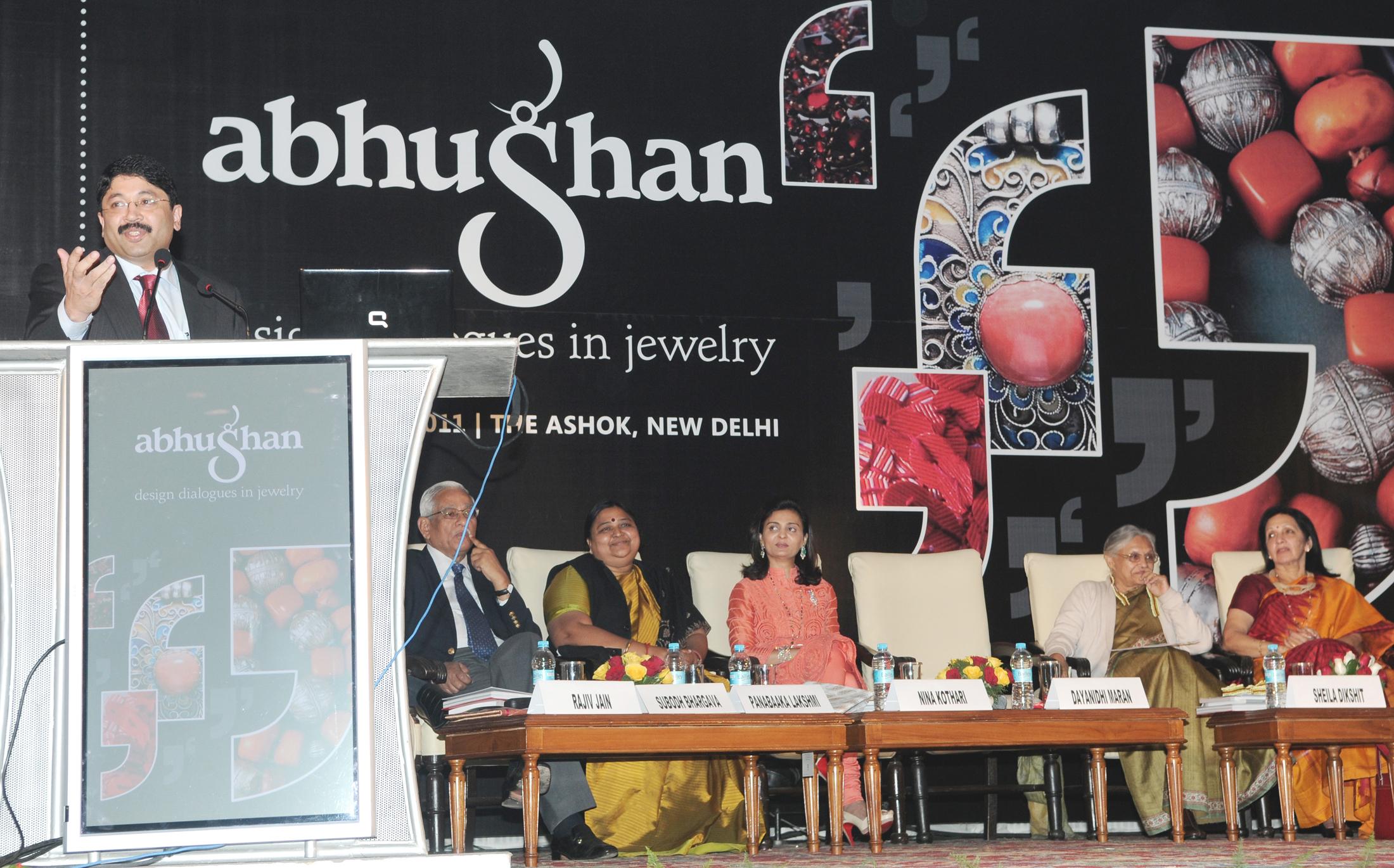 File Dayanidhi Maran Addressing At The Inauguration Of The Abhushan