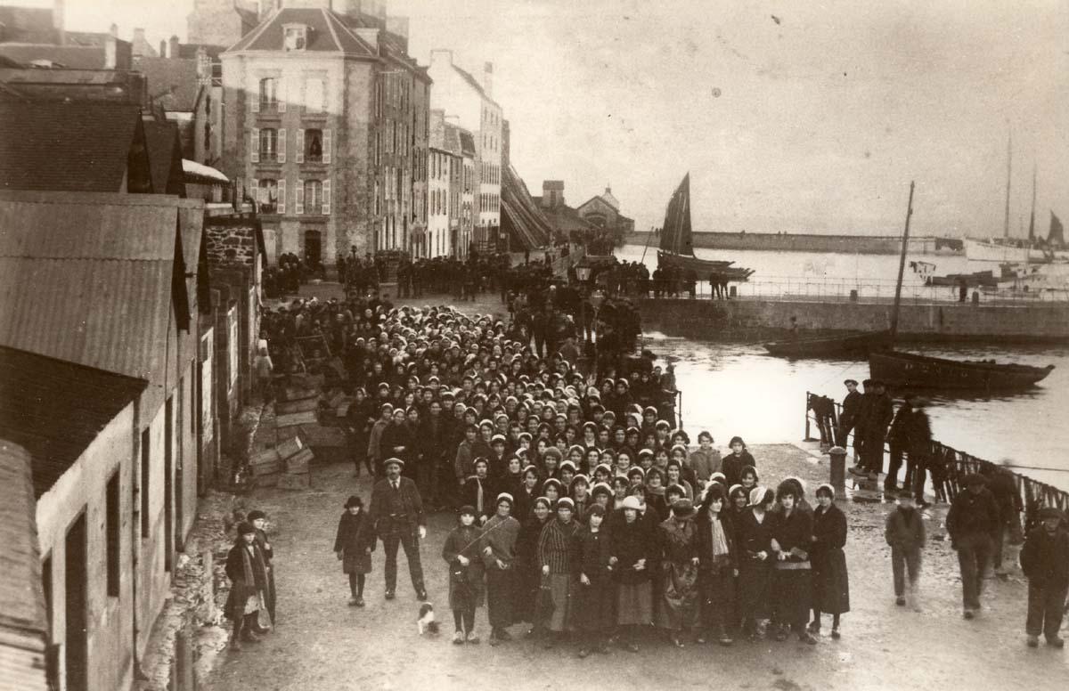 Grêves des sardinières, le 20 novembre 1924