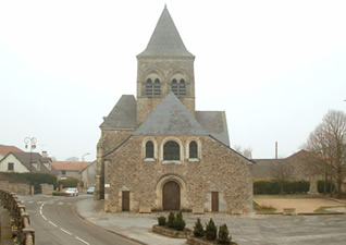 Eglise Saint-Martin à Berru