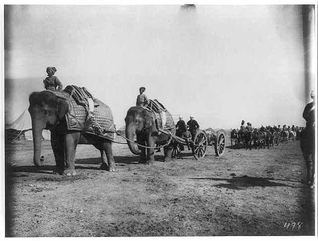 File Elephant Battery Of Heavy Artillery Along The Khyber
