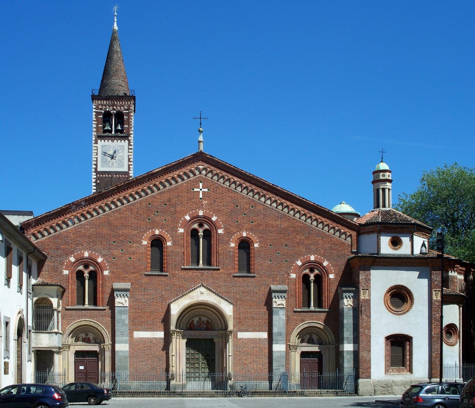 file facade of sant 39 eustorgio in wikimedia commons