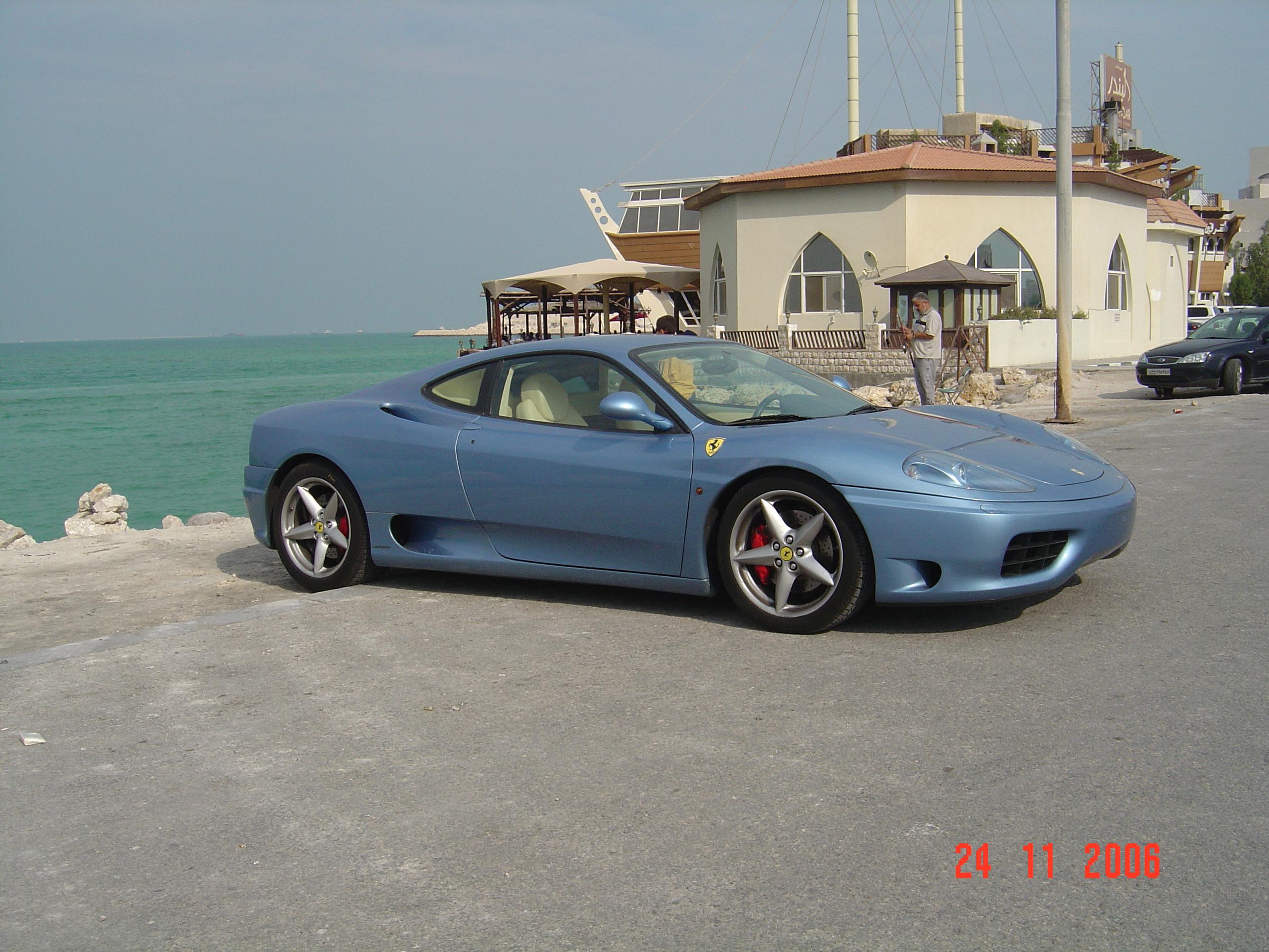 File Ferrari 360 Modena F1 Color Blue California Jpg