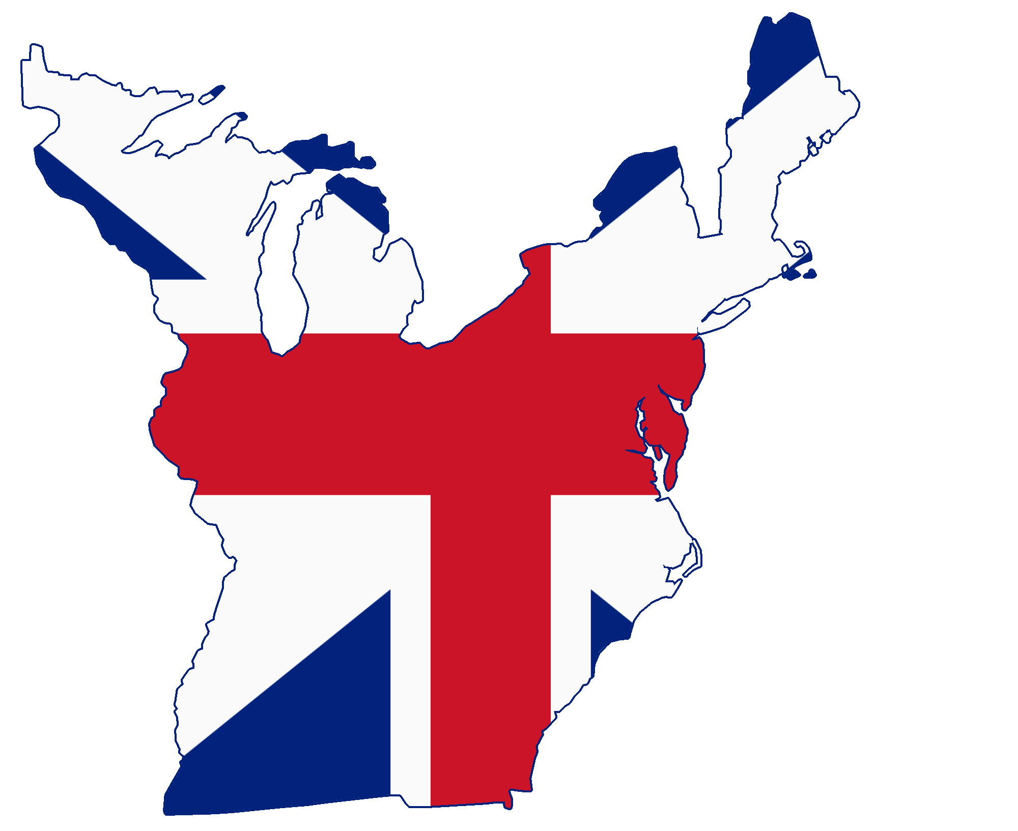File:Flag map of the Greater Thirteen Colonies.png - Wikimedia Commons