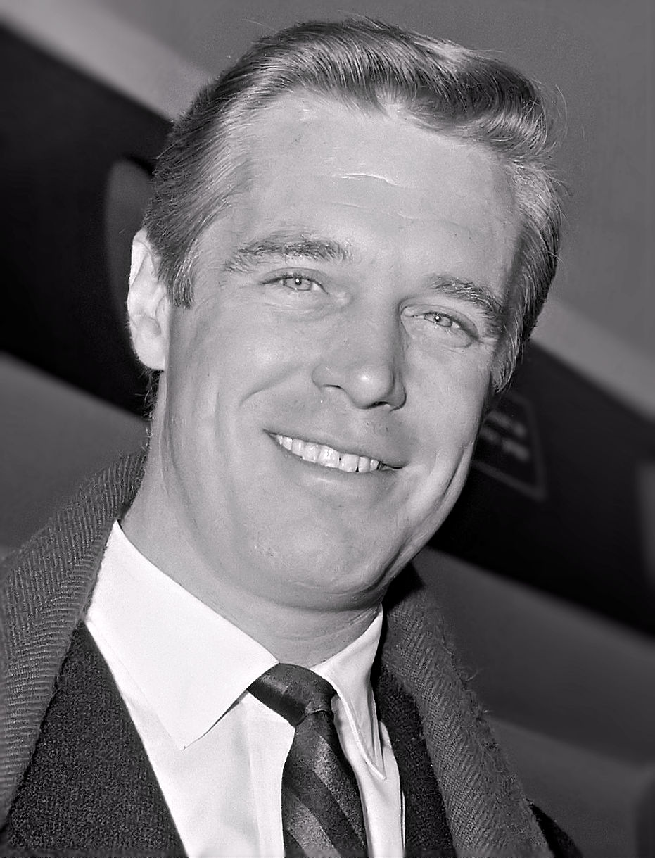 1963 Handsome George Peppard | George peppard, Famous