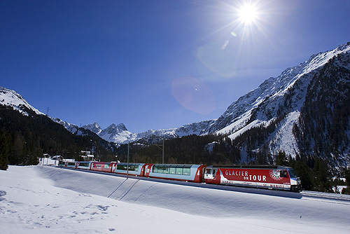 Glacier Express Suiza Switzerland Tren Train