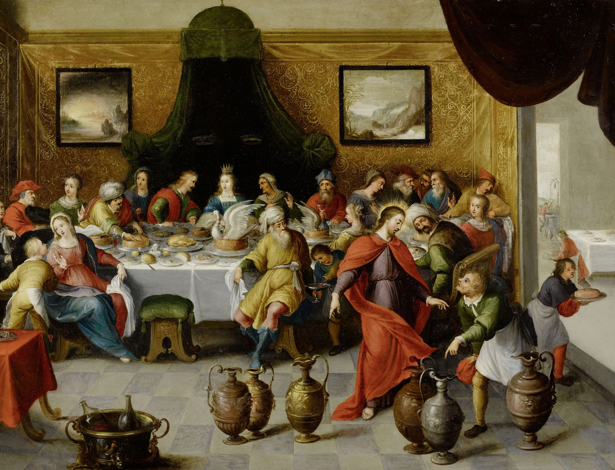 File Hieronymus Francken Iii Hochzeit Zu Kana Jpg Wikimedia Commons