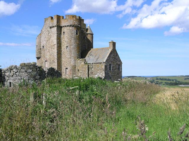 Ruinous castle