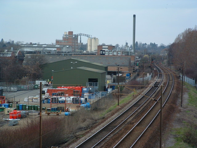 File:Industry By Railway Line - geograph.org.uk - 367711.jpg