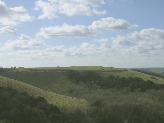 Iron age hillfort on Old Winchester Hill - geograph.org.uk - 24985