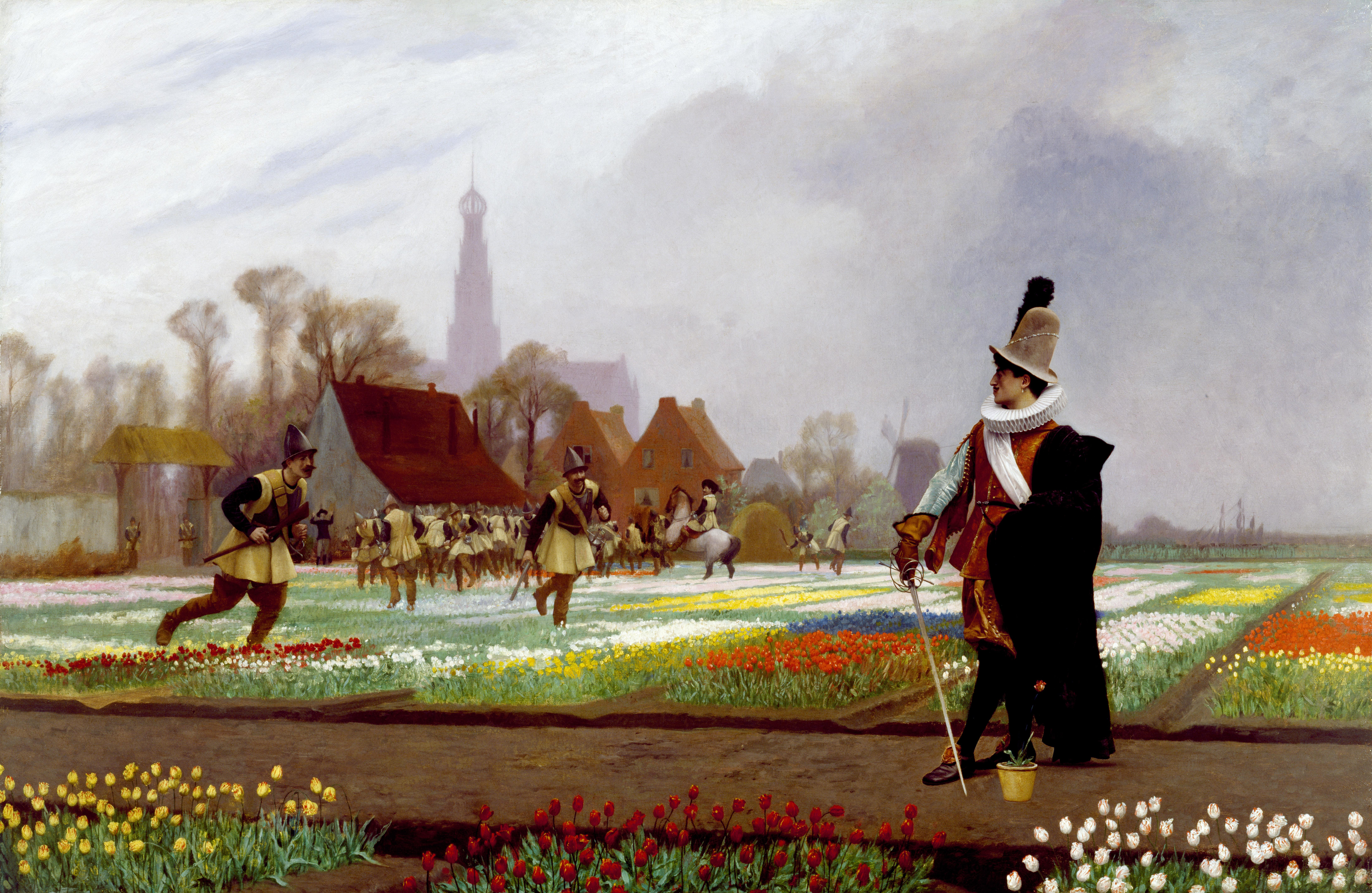 FileJean Léon Gérôme   The Tulip Folly   Walters 9.jpg ...