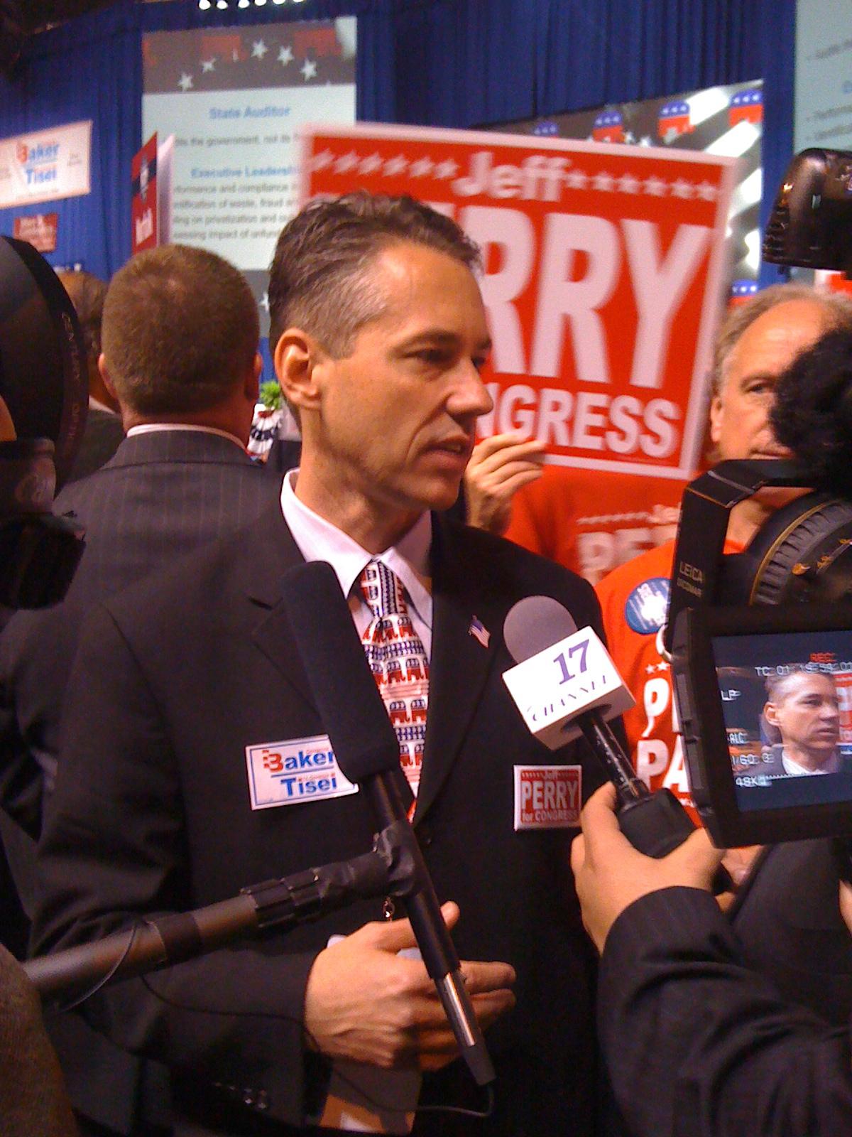 Jeff Perry (politician) - Wikipedia