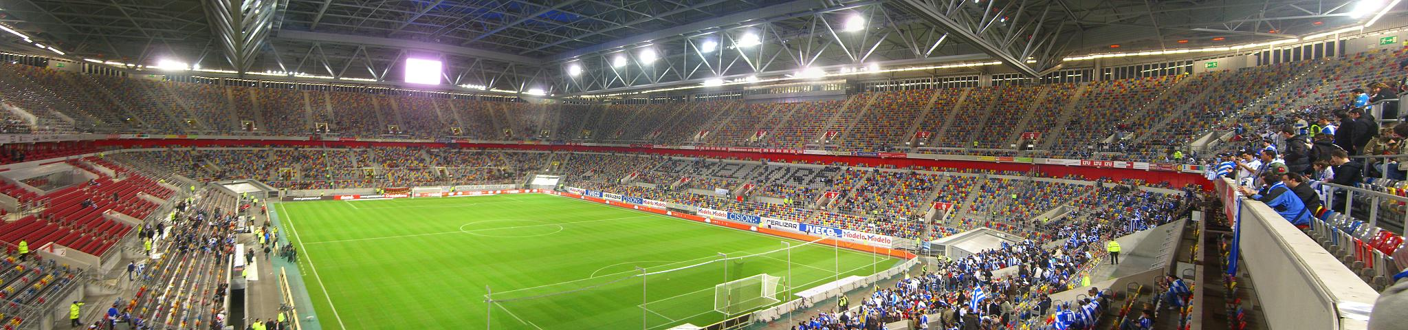 Panorama der ESPRIT arena