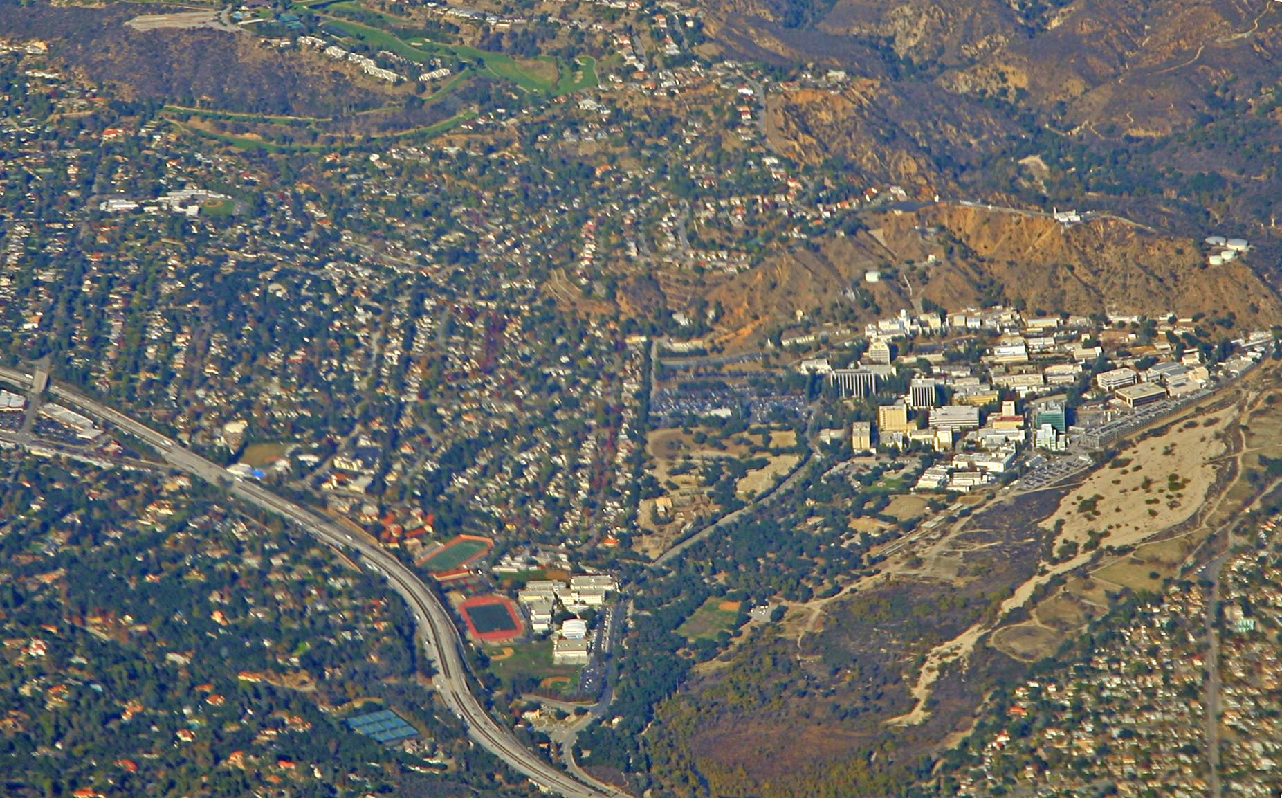 Map Of La Canada High School La Cañada Flintridge, California   Wikipedia