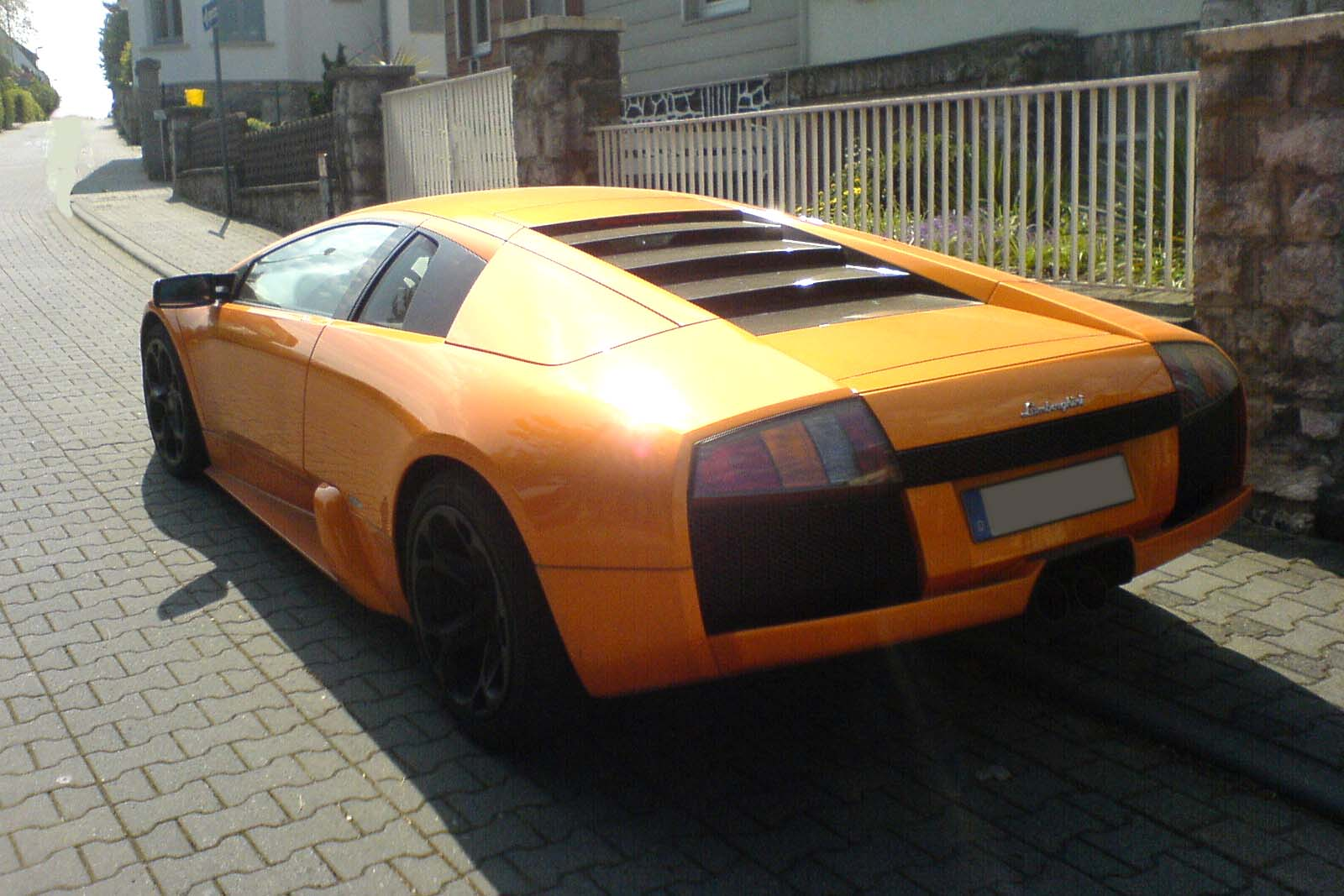 Orange Lamborghini Murcielago Wallpaper | www.imgkid.com ...