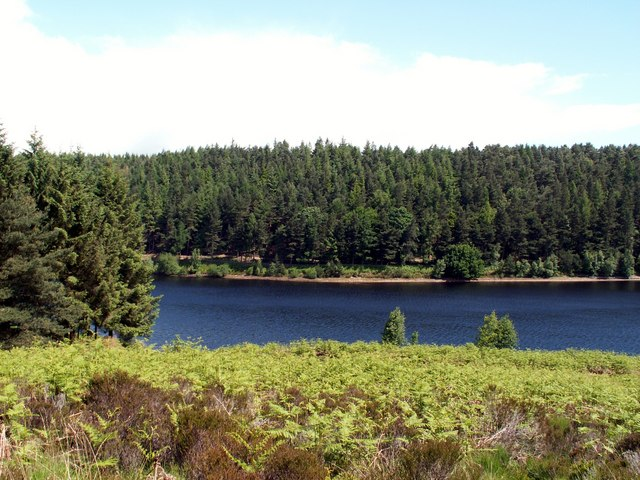 Langsett Reservoir looking to Langsett Bank - geograph.org.uk - 852045
