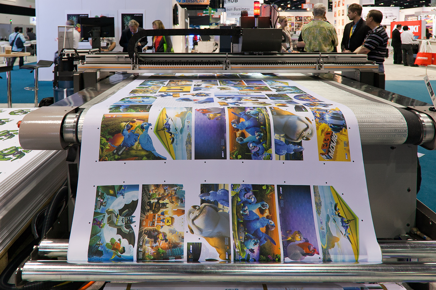 File Large Format Digital Printer Jpg Wikimedia Commons