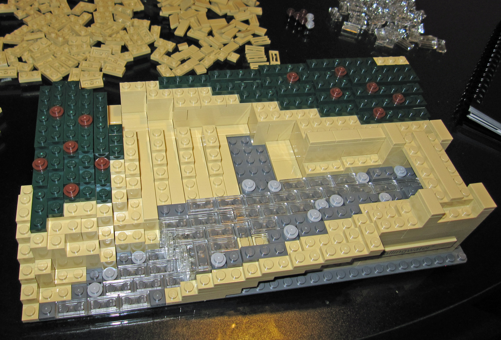 Falling water lego architecture images - Lego falling waters ...