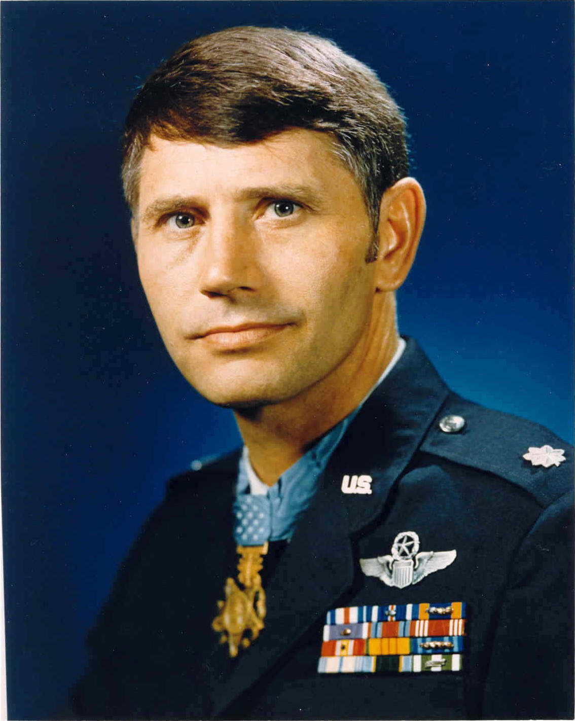 Medal of Honor recipient Colonel Leo K. Thorsness