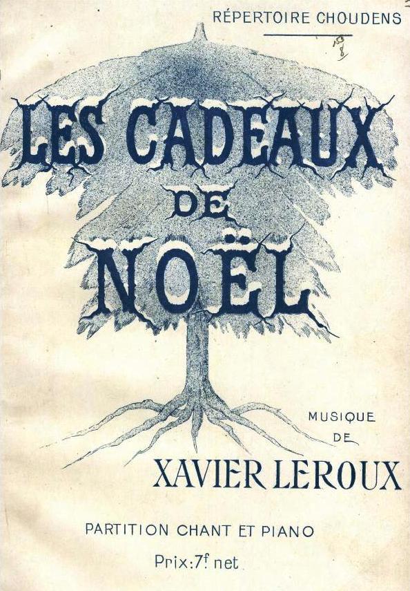 File:Les cadeaux de Noël, piano vocal score cover 1915.jpg