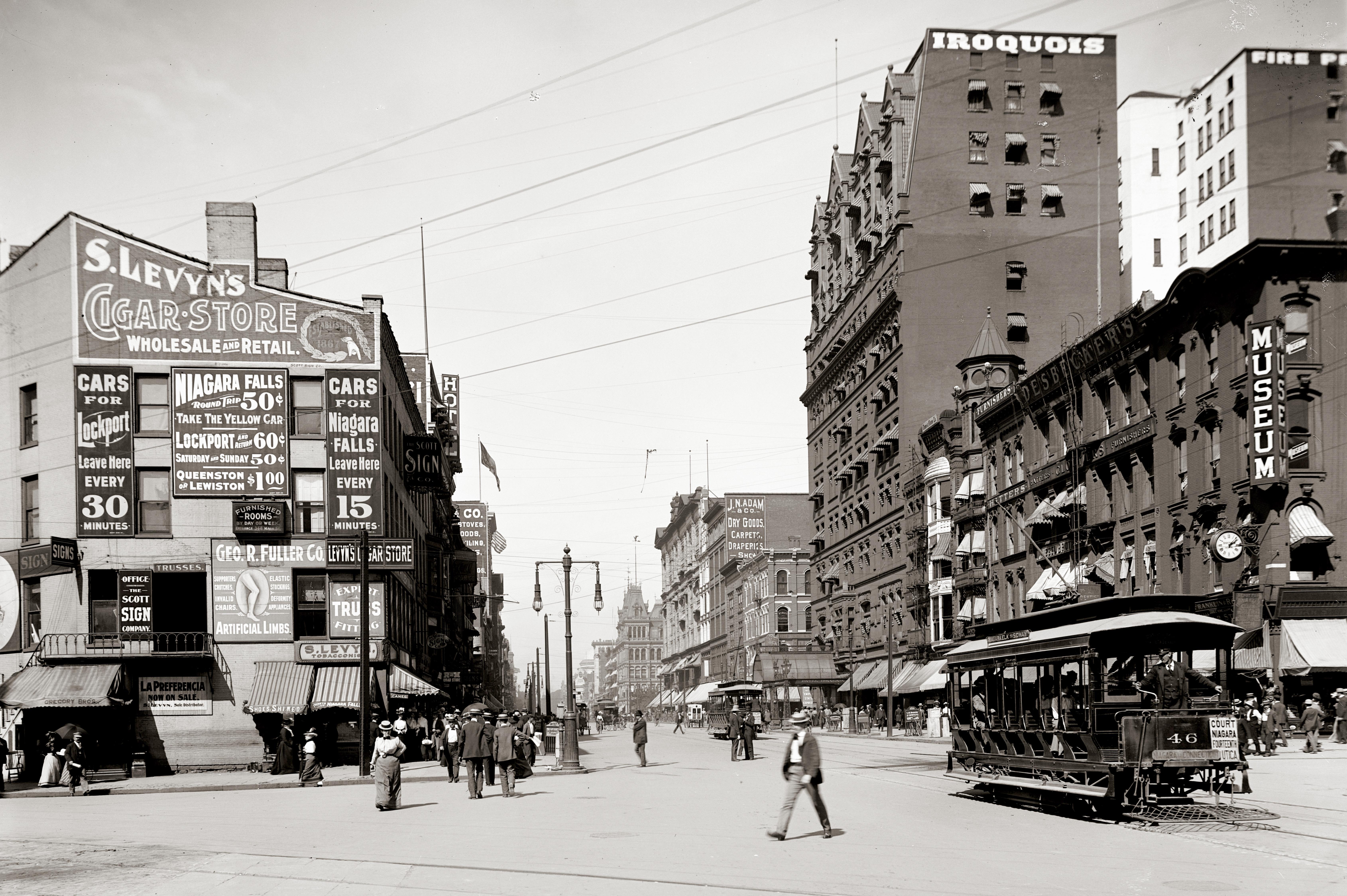 File Main Street Buffalo New York Jpg