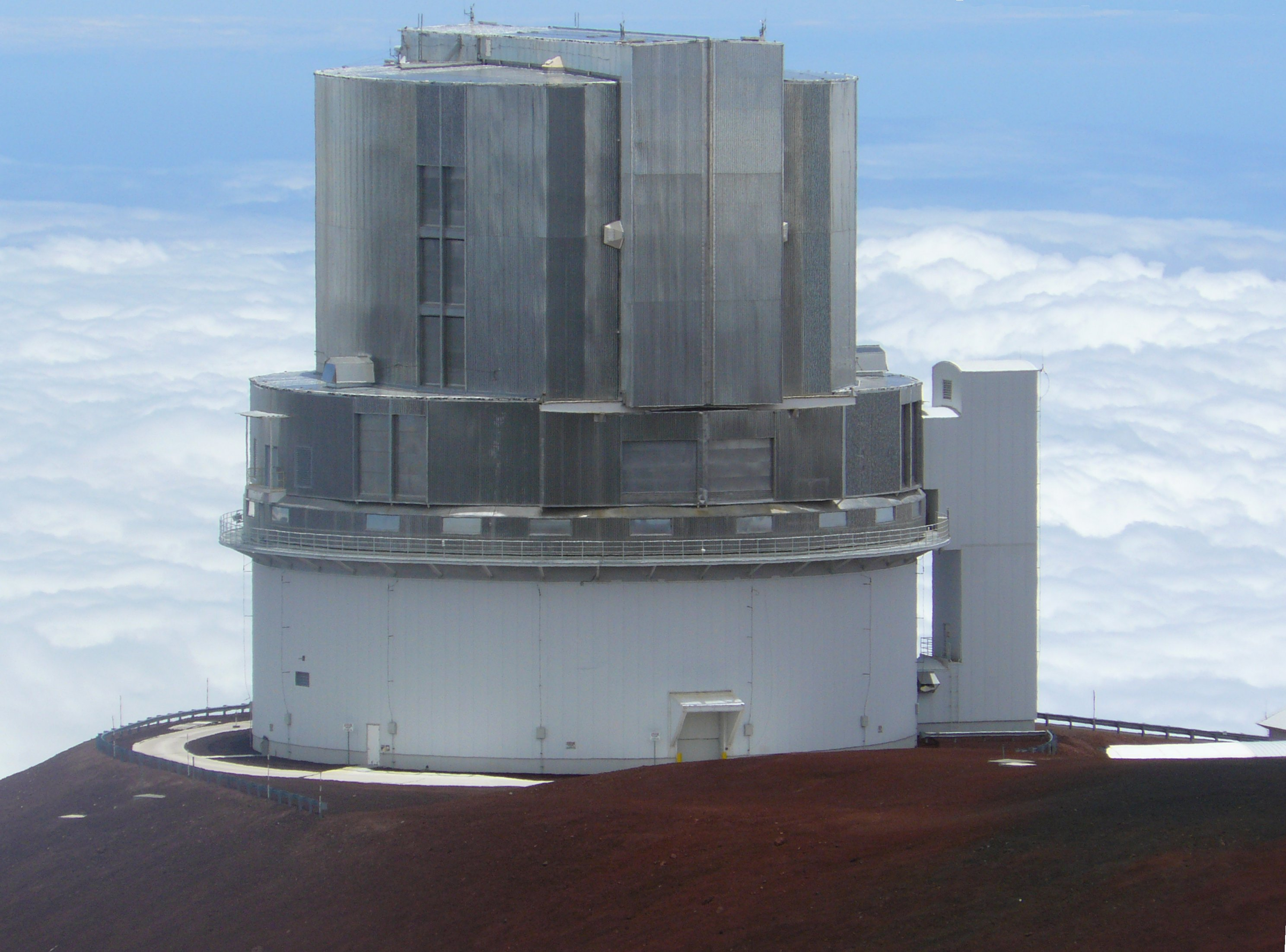 The Subaru Telescope on Mauna Kea, Hawai'i. Image credit wikimedia user Denys, CC BY 3.0.