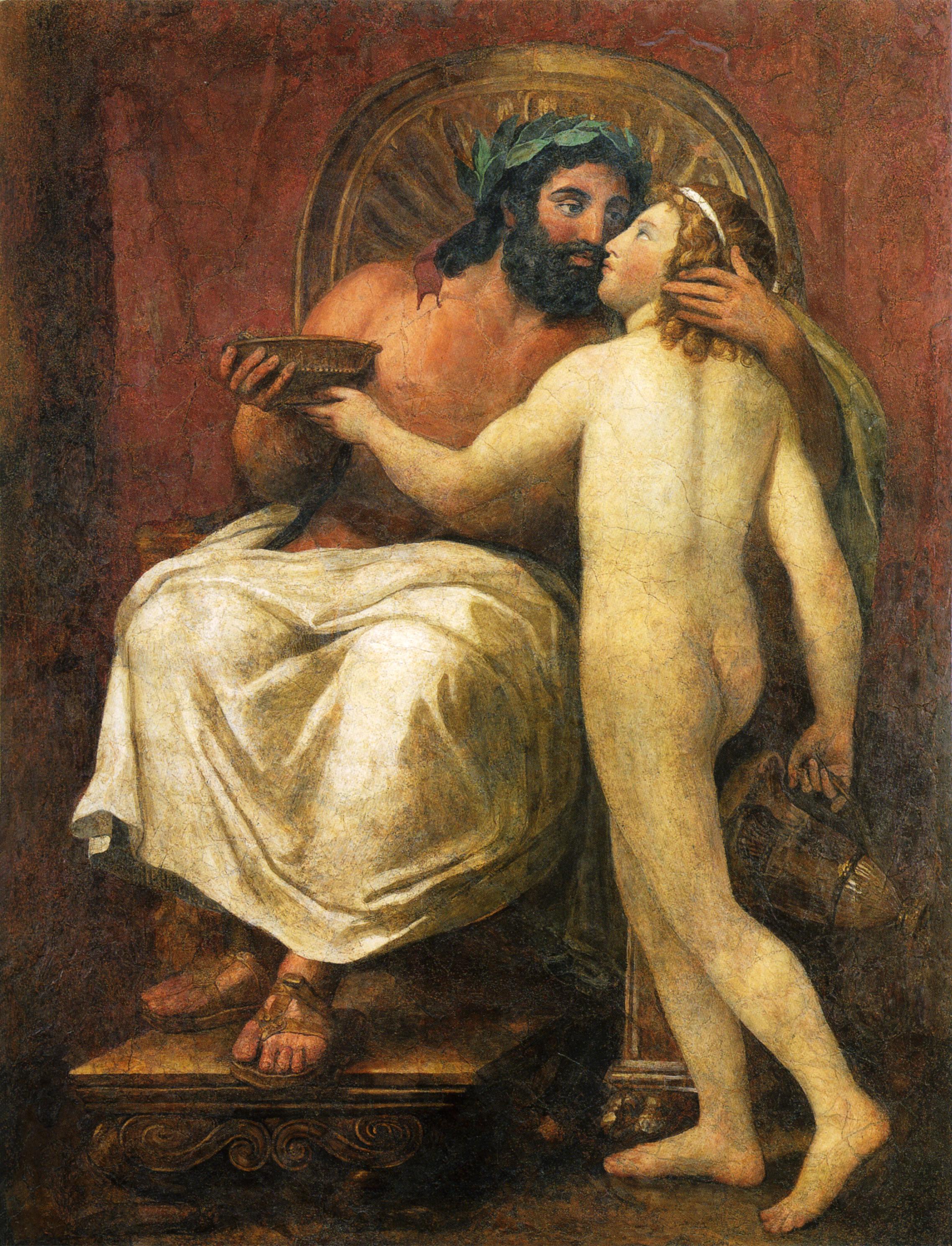 Zeus und Ganymed