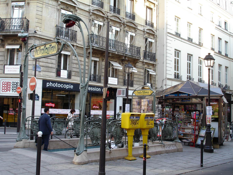 Quatre-Septembre (stanice metra v Paříži)