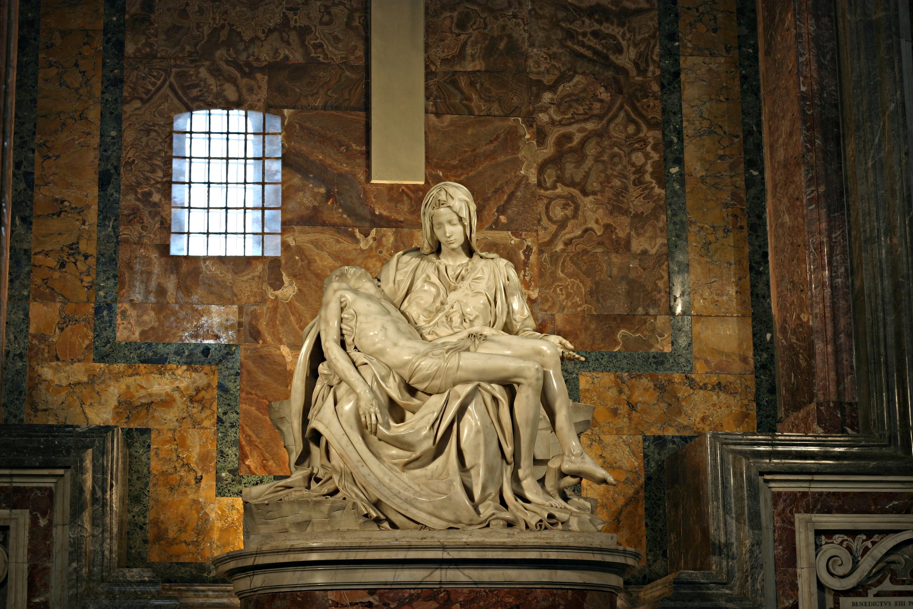Michelangelo's Pieta 5450