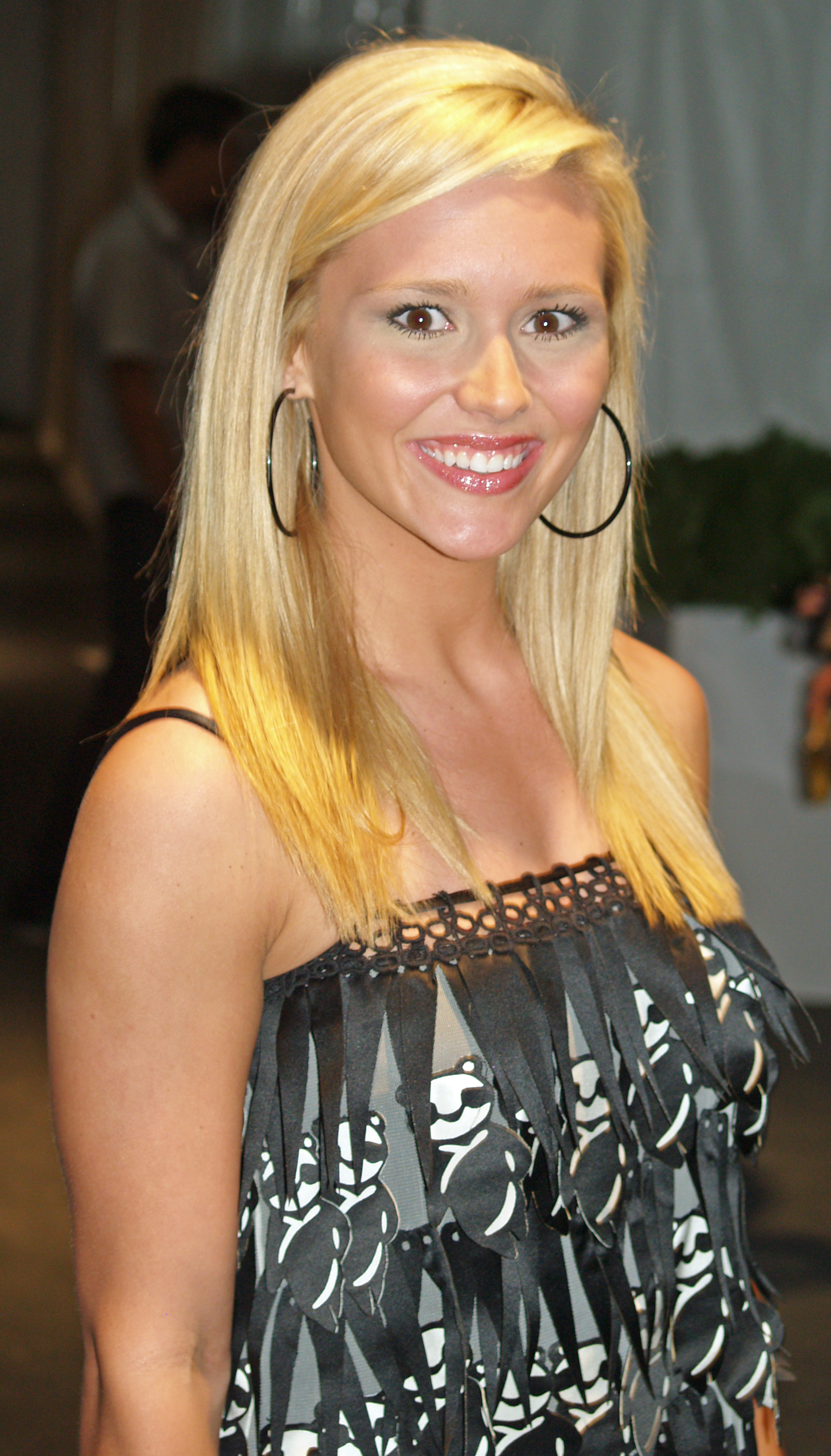 The First Miss Arkansas Teen USA, Stevi Perry won Miss Teen USA 2008