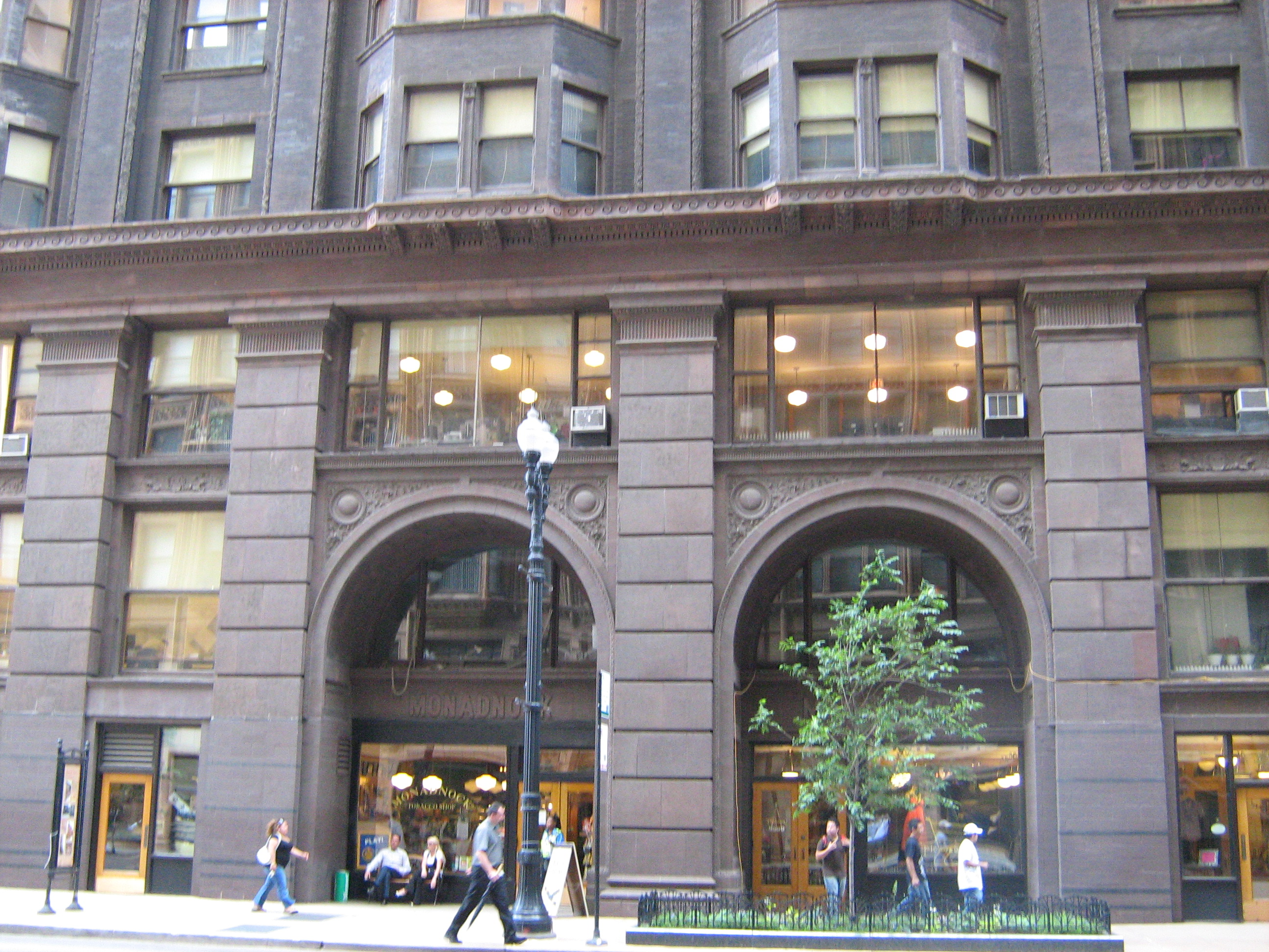 File:Monadnock Building East Facade.jpg - Wikipedia, the free ...