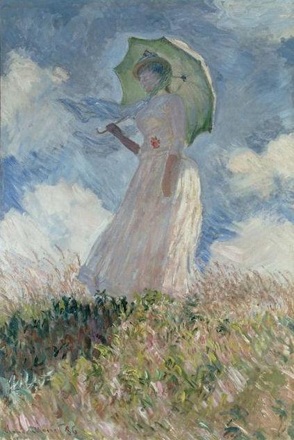 Frau mit Sonnenschirm Monet  Wikipedia