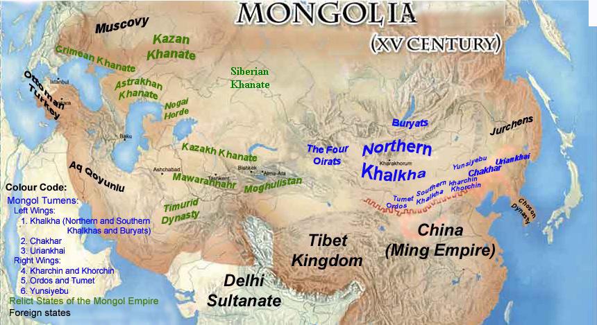 Тартария. Часть 3: Монгольская Империя