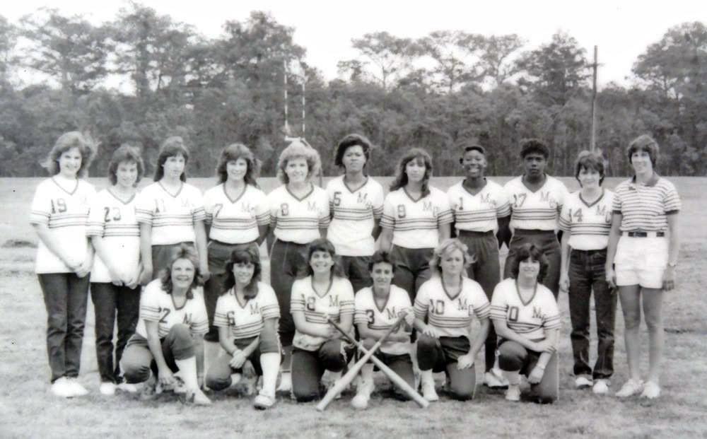 Morgan White Softball