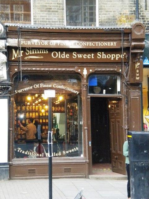 Mr. Simm's Olde Sweet Shoppe - Wikipedia