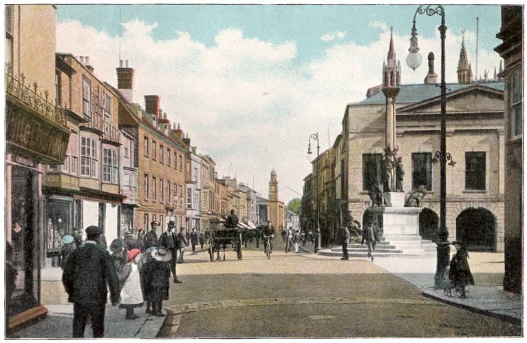 Newport High Street, circa 1910