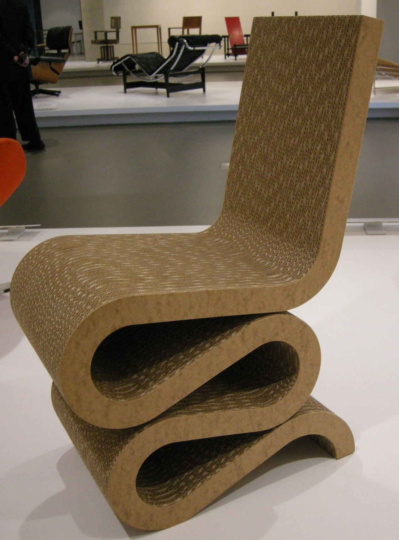 File Ngv Design Frank O Gehry Wiggle Side Chair 1972