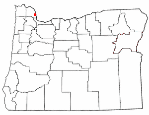 Loko di Columbia City, Oregon