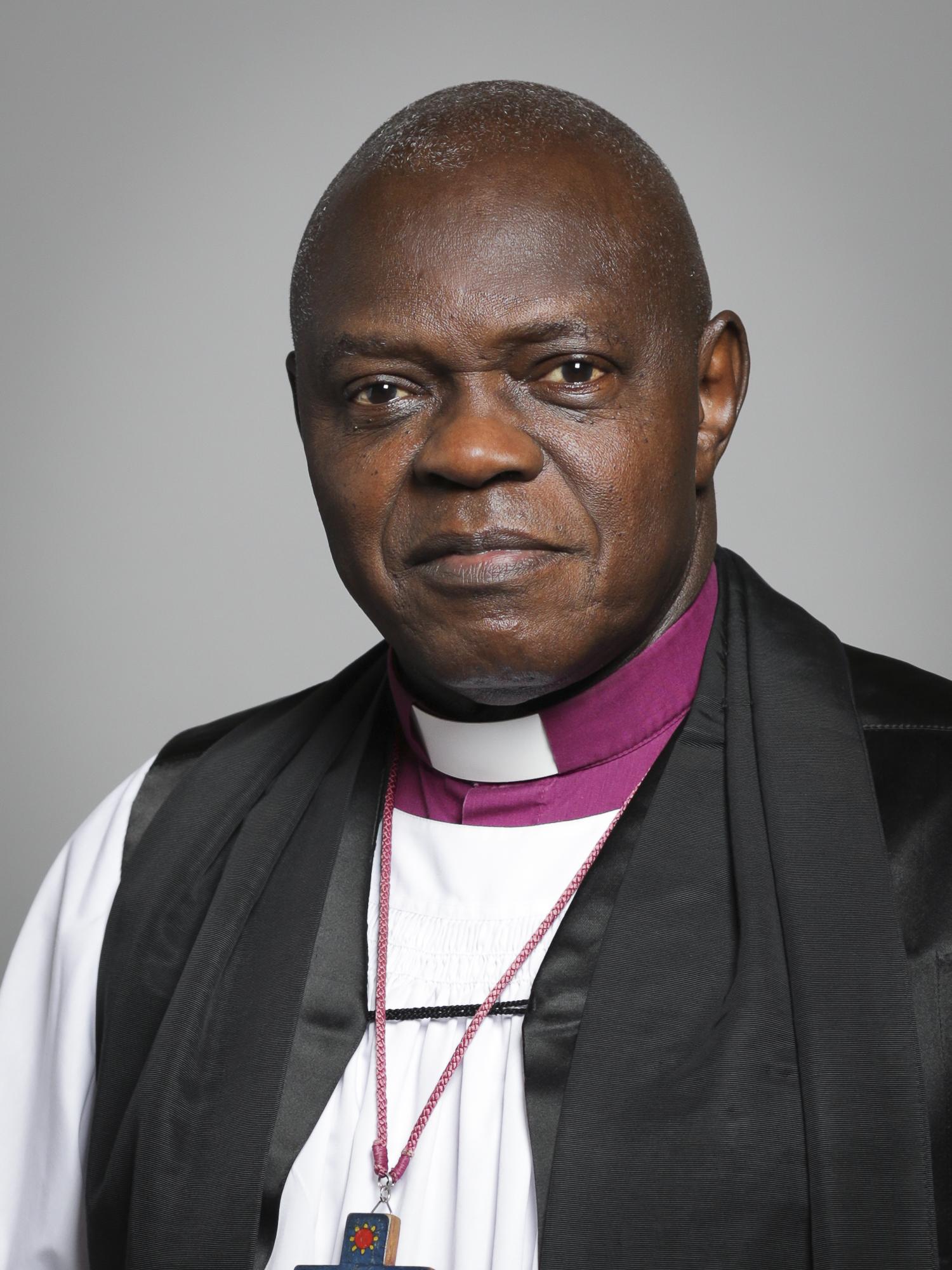 Dr John Sentamu, Archbishop of York