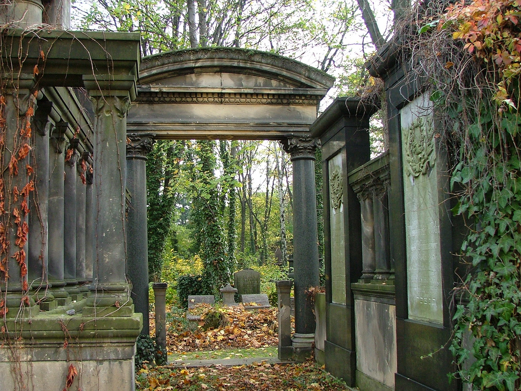 a creative essay about in cemetery