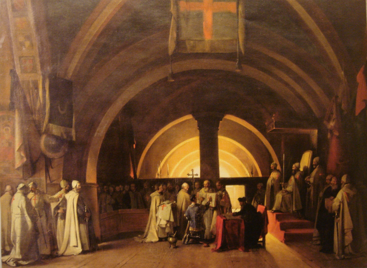 http://upload.wikimedia.org/wikipedia/commons/a/a7/Ordination_of_Jacques_de_Molay_in_1265_at_the_Beaune_commandery_by_Marius_Granet_1777_1849.jpg